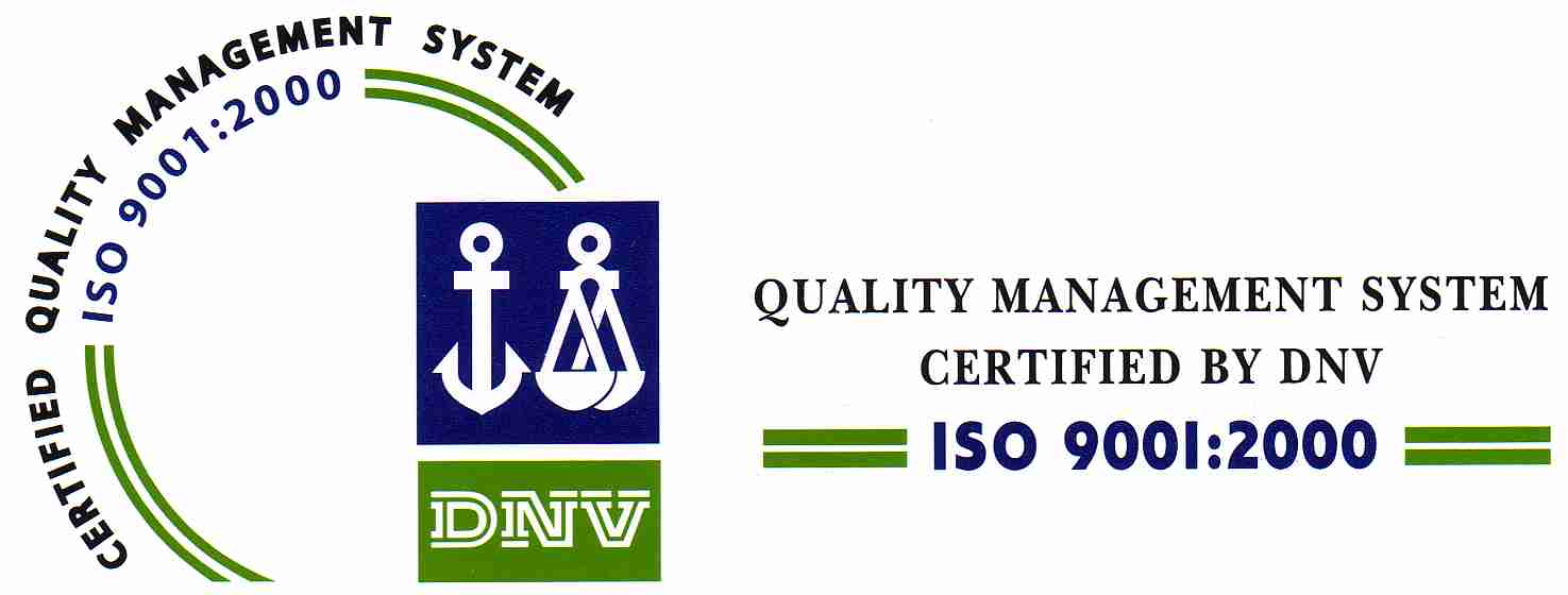ISO Certified by DNV